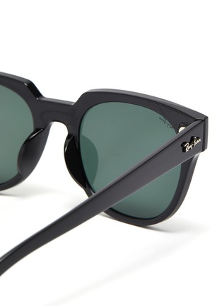 Detail View - Click To Enlarge - RAY-BAN - 'Wayfarer' acetate frame thin temple sunglasses