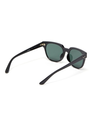 Figure View - Click To Enlarge - RAY-BAN - 'Wayfarer' acetate frame thin temple sunglasses