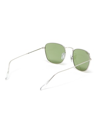 Figure View - Click To Enlarge - RAY-BAN - 'Frank' metal small square frame sunglasses