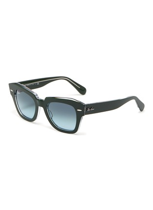 Main View - Click To Enlarge - RAY-BAN - 'Wayfarer' acetate bold frame sunglasses