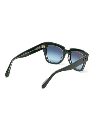 Figure View - Click To Enlarge - RAY-BAN - 'Wayfarer' acetate bold frame sunglasses