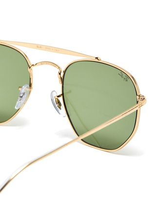 Detail View - Click To Enlarge - RAY-BAN - Aviator metal frame vintage sunglasses