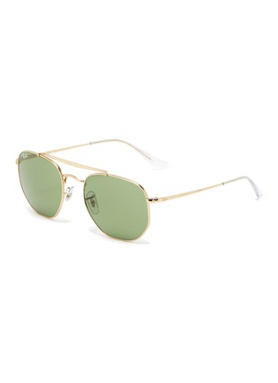 Main View - Click To Enlarge - RAY-BAN - Aviator metal frame vintage sunglasses