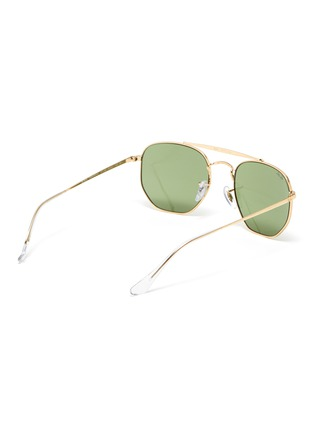 Figure View - Click To Enlarge - RAY-BAN - Aviator metal frame vintage sunglasses