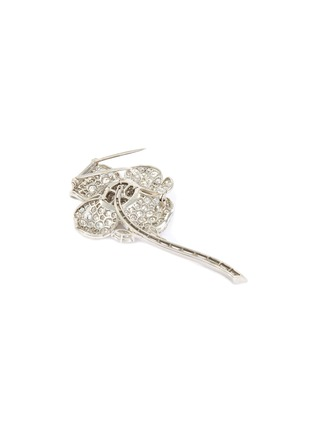 Detail View - Click To Enlarge - PALAIS ROYAL - Van Cleef and Arpels diamond platinum brooch