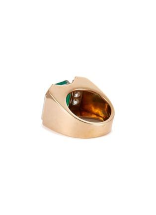 Figure View - Click To Enlarge - PALAIS ROYAL - Mauboussin diamond emerald 18k gold ring