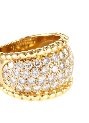 Detail View - Click To Enlarge - PALAIS ROYAL - Van Cleef And Arpels diamond 18k gold ring