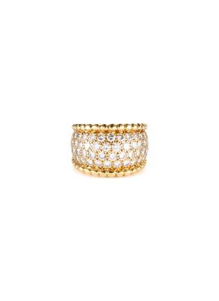 Main View - Click To Enlarge - PALAIS ROYAL - Van Cleef And Arpels diamond 18k gold ring