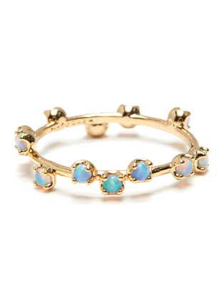Main View - Click To Enlarge - GIRLS CREW - 'Opal Constellation' ring