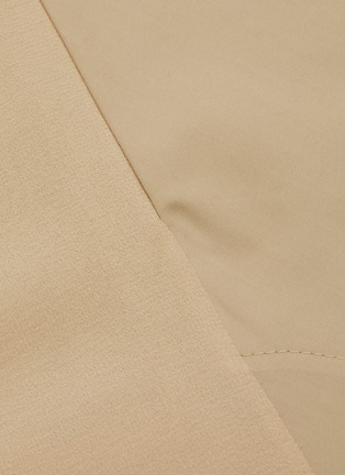 - CHLOÉ - Neck-tie detail button down trench coat