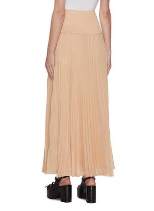 Back View - Click To Enlarge - CHLOÉ - Plissé pleated maxi skirt
