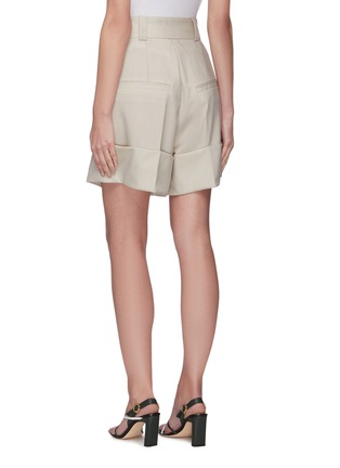 Back View - Click To Enlarge - LOW CLASSIC - Half turn up relaxed shorts