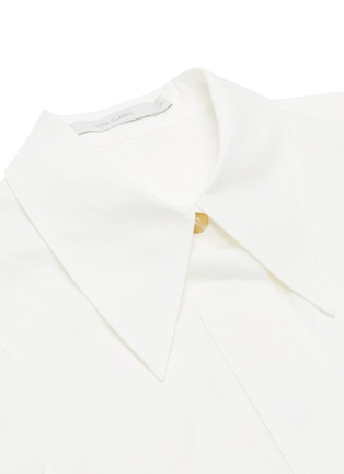 - LOW CLASSIC - Armhole stitch oxford shirt