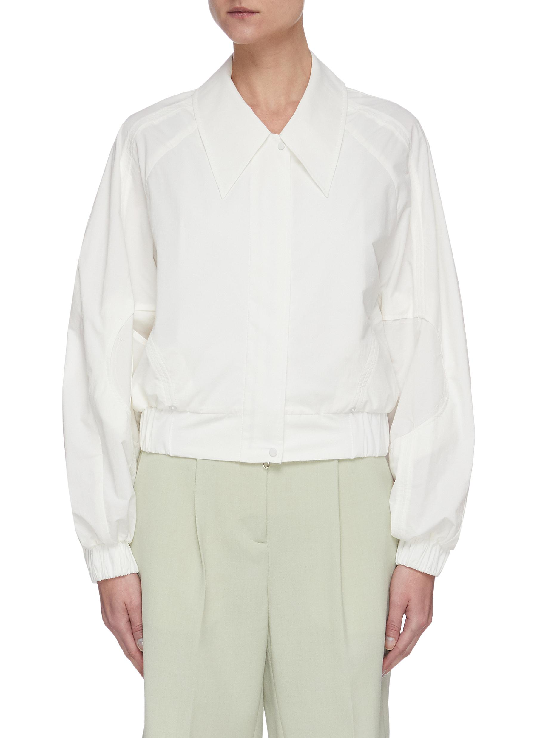 shop Low Classic Stitch banding crop jacket online