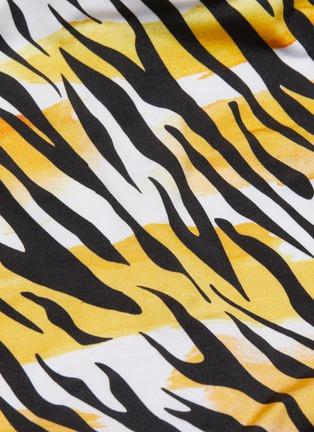 - REINA OLGA - Loren' tiger print belted one piece swimsuit