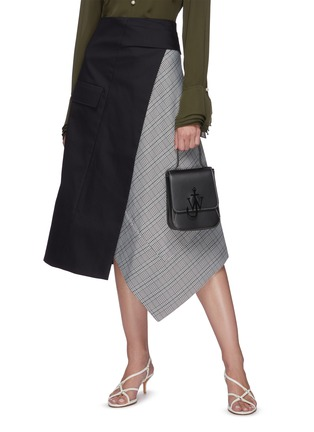 Figure View - Click To Enlarge - JW ANDERSON - Anchor embroidered felt tote bag