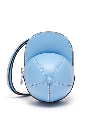 Main View - Click To Enlarge - JW ANDERSON - Nano cap crossbody leather bag