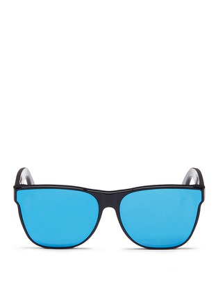 Main View - Click To Enlarge - SUPER - 'Classic' mirror sunglasses
