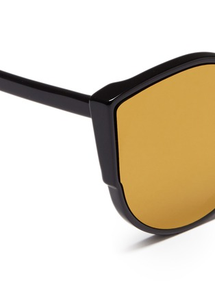 Detail View - Click To Enlarge - SUPER - 'Lucia' cat eye mirror sunglasses