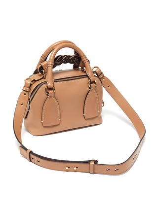 Detail View - Click To Enlarge - CHLOÉ - 'Daria' small leather bag