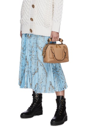 Figure View - Click To Enlarge - CHLOÉ - 'Daria' small leather bag