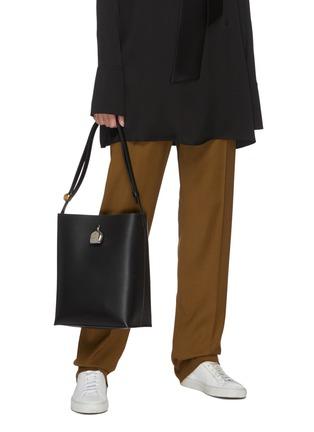 Figure View - Click To Enlarge - JIL SANDER - Constantin' leather medium bag