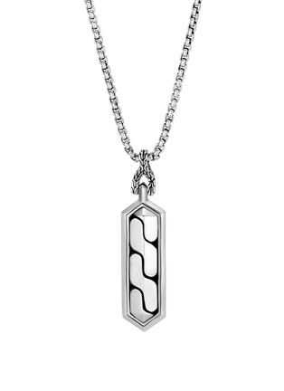 Detail View - Click To Enlarge - JOHN HARDY - 'Asli Classic Chain' sterling silver pendant necklace