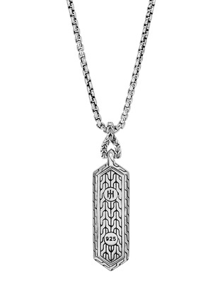 Main View - Click To Enlarge - JOHN HARDY - 'Asli Classic Chain' sterling silver pendant necklace