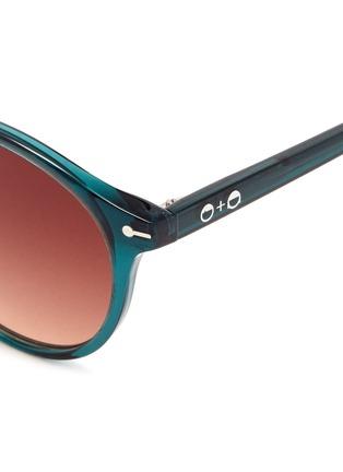 Detail View - Click To Enlarge - Sons+Daughters Eyewear - 'Clark' kids keyhole bridge acetate round sunglasses