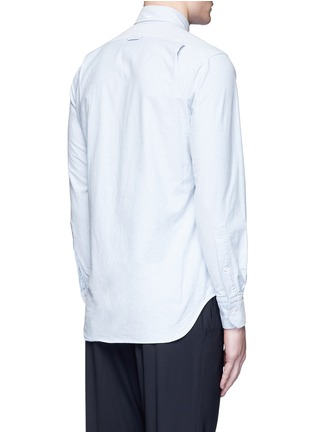 Back View - Click To Enlarge - Thom Browne - Button down cotton Oxford shirt
