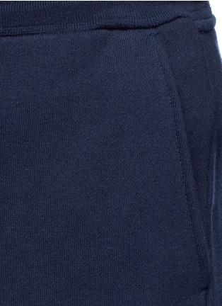 Detail View - Click To Enlarge - Thom Browne - Stripe print cotton sweatpants