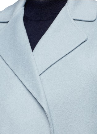 Detail View - Click To Enlarge - Helmut Lang - Double face wool-cashmere belted coat