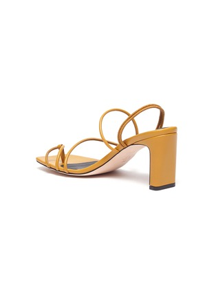 - KALLISTE - Strappy Toe Ring Slingback Sandals