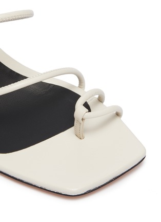 Detail View - Click To Enlarge - KALLISTE - Strappy Toe Ring Slingback Sandals