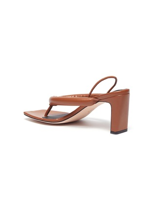 - KALLISTE - Puffy Strap Thong Sandals