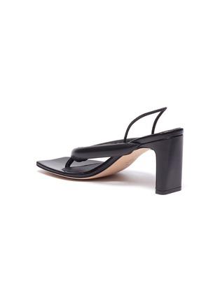 - KALLISTE - Puffy Strap Thong Sandals