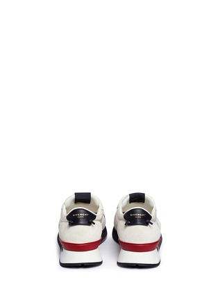 Back View - Click To Enlarge - Givenchy - 'Runner Active' mixed media sneakers