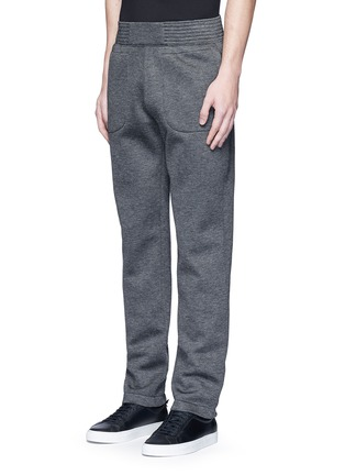 Front View - Click To Enlarge - Givenchy Beauty - Logo patch bonded jersey sweatpants