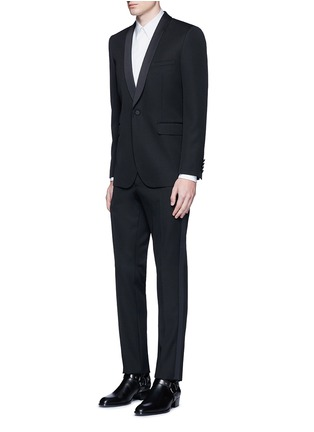 Figure View - Click To Enlarge - Givenchy - Bib front cotton tuxedo shirt