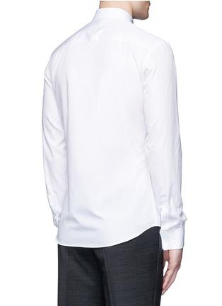 Back View - Click To Enlarge - GIVENCHY - Multi bib tuxedo shirt