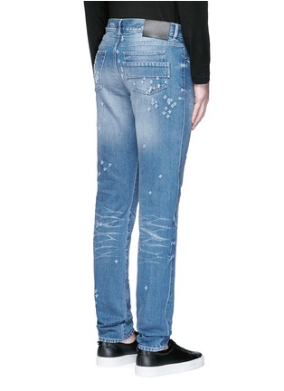 Back View - Click To Enlarge - Givenchy Beauty - Back strap distressed jeans