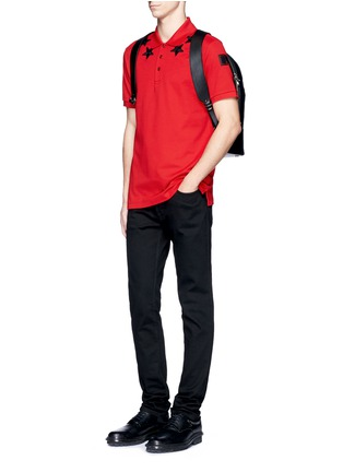 Figure View - Click To Enlarge - Givenchy Beauty - Star patch polo shirt