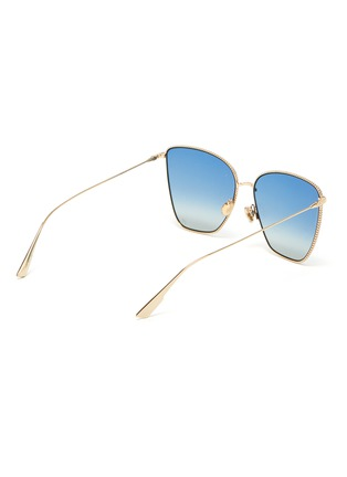 Figure View - Click To Enlarge - DIOR - Cat-eye metal frame gradient sunglasses