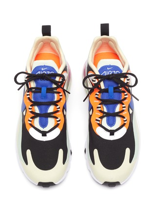 Detail View - Click To Enlarge - NIKE - Air Max 270 React' lace up sneakers