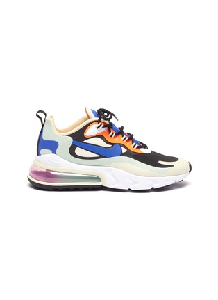 Main View - Click To Enlarge - NIKE - Air Max 270 React' lace up sneakers