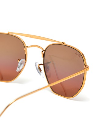 Detail View - Click To Enlarge - RAY-BAN - Square frame aviator sunglasses