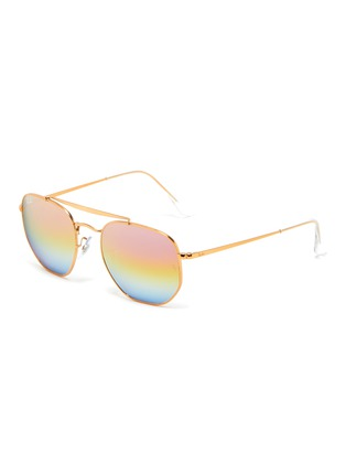 Main View - Click To Enlarge - RAY-BAN - Square frame aviator sunglasses