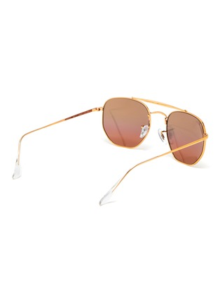 Figure View - Click To Enlarge - RAY-BAN - Square frame aviator sunglasses