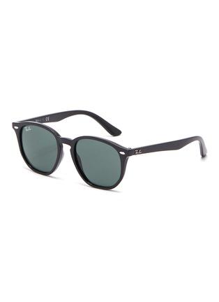 Main View - Click To Enlarge - RAY-BAN - Angular acetate frame kids sunglasses