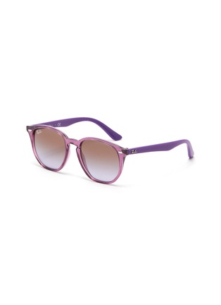 Main View - Click To Enlarge - RAY-BAN - Angular acetate frame gradient kids sunglasses